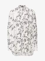Ann Demeulemeester Oversized Floral Shirt