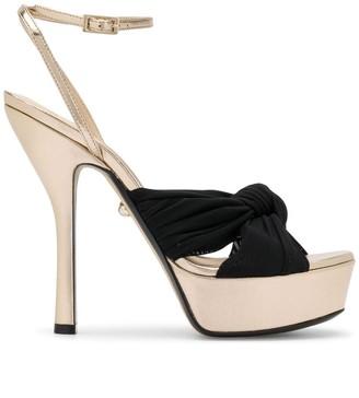 ALEVÌ Milano Eleon knot-detail platform sandals