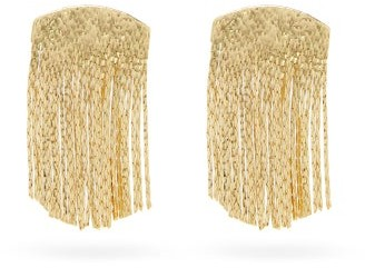 Anissa Kermiche Fil D'or Gold-plated Earrings - Gold