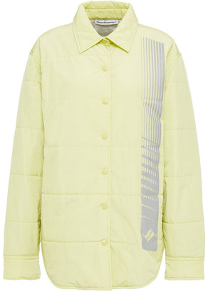 alexanderwang.t Quilted Printed Shell Jacket