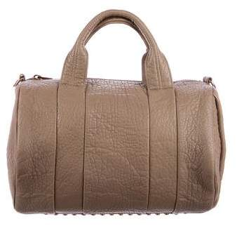 Alexander Wang Leather Rockie Duffel Bag