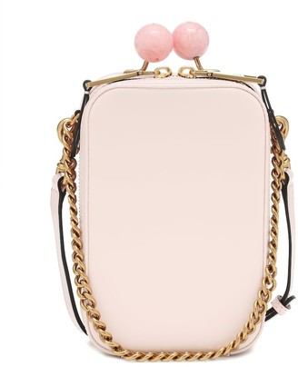 Marc Jacobs The Vanity leather crossbody bag