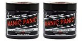 "Manic Panic Semi-Permanent Hair Color Cream - Violet Night 4oz ""Pack of 2"""