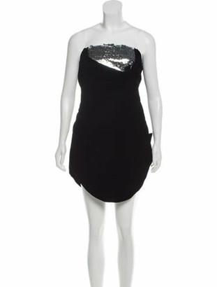 Oscar de la Renta 2017 Velvet Dress w/ Tags Black