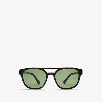 Prada 0PR 23VS (Havana/Polarized Green) Fashion Sunglasses