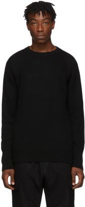 Barena Black Corba Crewneck Sweater