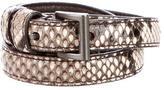 Prada Snakeskin Belt
