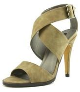 Michael Antonio Lolah Women Open Toe Synthetic Brown Sandals.