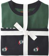 Joe Fresh Kid Boys' Fleece Sleep Set, Emerald (Size S)