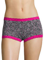 Maidenform Lace Trim Boy Shorts