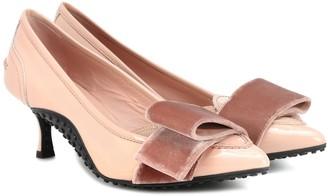 Tod's x Alessandro Dell'Acqua patent-leather pumps