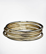 Express Mixed Texture Bangles