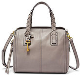 Fossil Emma Whip-Stitched Satchel