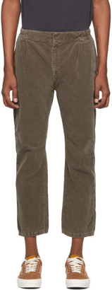 Remi Relief Brown Corduroy Easy Trousers