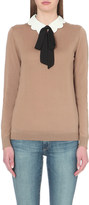Claudie Pierlot Massinissa knitted wool jumper