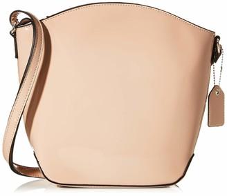 N.V. Bags Womens 271 Shoulder Bag Beige (Nude)