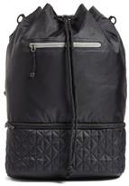 Zella Quilted Backpack - Black