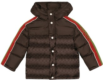 Gucci Kids Down puffer jacket
