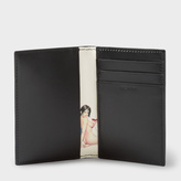 Paul Smith Men's Black Leather 'Naked Lady' Interior Credit Card Wallet