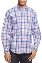 Tailorbyrd Forest Plaid Classic Fit Button-Down Shirt
