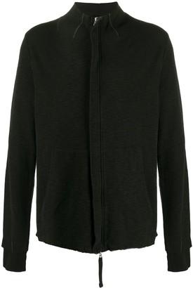Thom Krom Zipped Long-Sleeve Cardigan