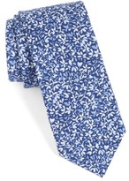 Nordstrom Men's Floral Cotton Skinny Tie