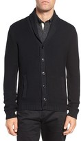 Men's W.r.k Cypress Cotton Shawl Collar Cardigan