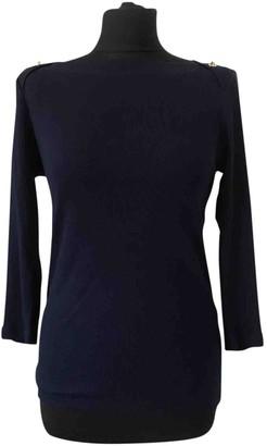Lauren Ralph Lauren Navy Cotton Top for Women