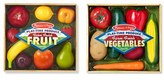 Melissa & Doug Toddler 'Play-Time Produce Fruit And Vegetables' Play Food