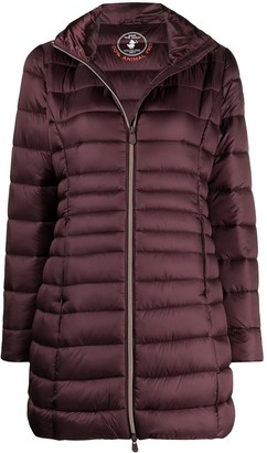 Save The Duck D4730WIRISY zip-front puffer jacket