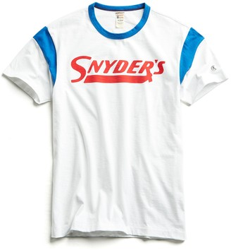 Todd Snyder + Champion Snyder's Ringer Graphic T-Shirt in White