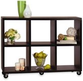 Bed Bath & Beyond Mobile Bookcase Console Table