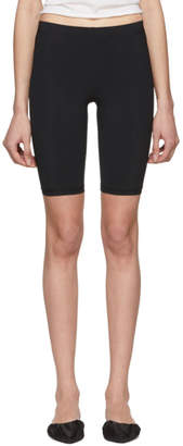 Nanushka Black Biker Shorts