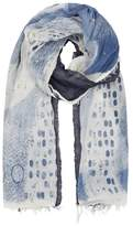 High Calming Printed Cotton Blend Scarf