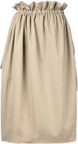 ASTRAET midi straight skirt - women - Polyester - 0