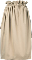 ASTRAET midi straight skirt