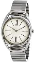 Gucci Women's YA140505 Silver Stainless-Steel Quartz Fashion Watch