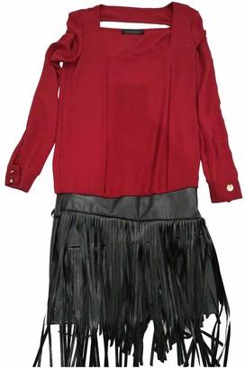 Mangano Burgundy Dress for Women