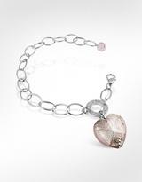 Charm & Chain Antica Murrina Faith - Heart Charm Chain Bracelet