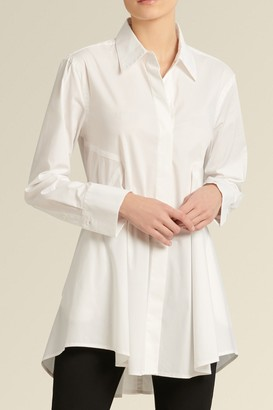 Donna Karan Icon Flare Tunic Shirt