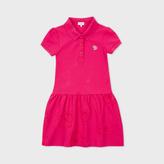 Paul Smith Girls' 2-6 Years Fuchsia Zebra-Logo Polo-Dress