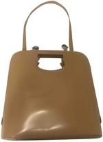 Salvatore Ferragamo Beige Leather Handbags