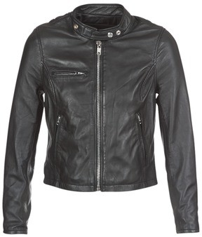 Schott LCW9641A women's Leather jacket in Black