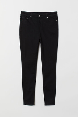 H&M H&M+ Skinny High Jeans - Black