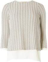 Dorothy Perkins Womens **Billie & Blossom Multi Coloured Long Sleeve 2-In-1 Top