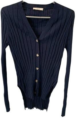 Celine Navy Wool Knitwear for Women