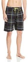 Kanu Surf Men's Rogue Plaid Board Shorts