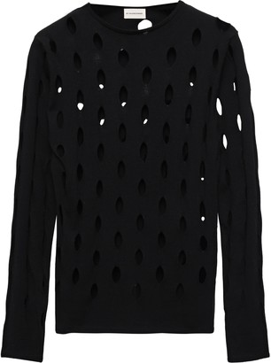 By Malene Birger Laser-cut Knitted Sweater