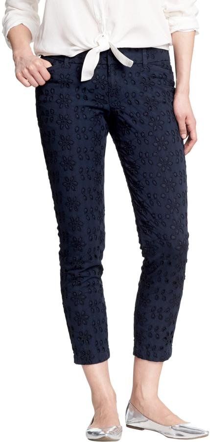 Old Navy Women's The Diva Eyelet Ankle Pants