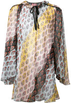 Giamba printed dress - women - Silk/Polyester - 38